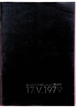 17 V 1979 Fragmenty listów do Jerzego Szatkowskiego z lat 1962 1979