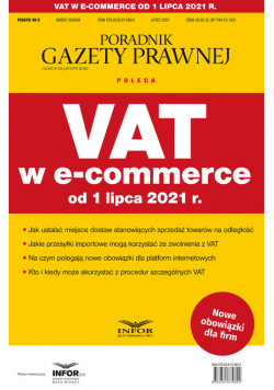 VAT w e-commerce od 1 lipca 2021