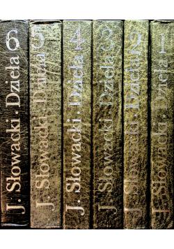 Juliusz Słowacki Dzieła wybrane 6 Tomów