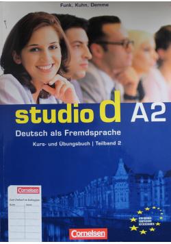 Studio d A2 Kurs und Ubungsbuch Teilband 2