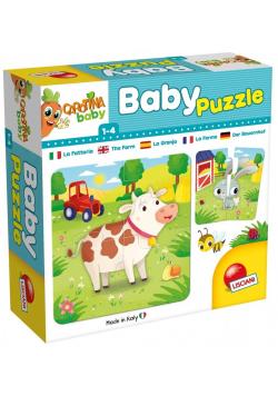 Carotina Baby - Puzzle The farm