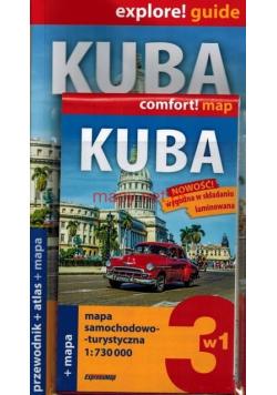 Kuba 3w1 przewodnik  atlas mapa