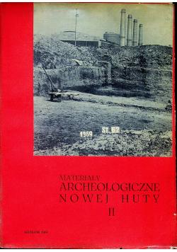 Materiały Archeologiczne Nowej Huty II