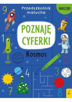 Przedszkolnik malucha Poznaję cyferki Kosmos