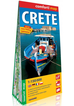 Comfort!map Crete (Kreta) 1:150 000 mapa w.2019