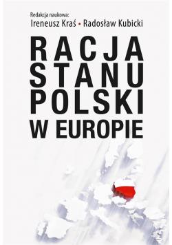 Racja stanu Polski w Europie