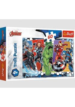 Puzzle 60 Niezwyciężeni Avengersi TREFL
