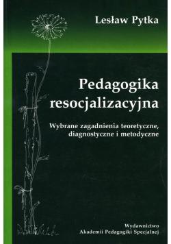 Pedagogika resocjalizacyjna