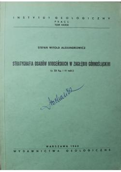 Stratygrafia osadów mioceńskich w Zagłębiu Górnośląskim
