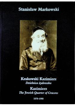 Krakowski Kazimierz Dzielnica żydowska 1870 - 1988