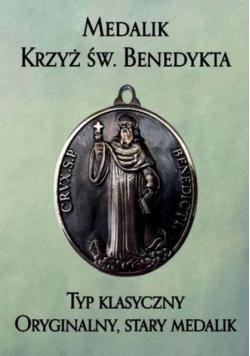 Medalik Krzyż św. Benedykta. Typ klasyczny