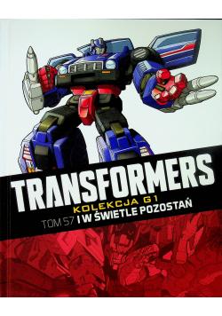 Transformers Tom 57 I w świetle pozostań