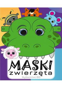 Maski. Kolorowe zwierzątka