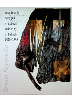 Inspiracje pasyjne w sztuce polskiej w latach 1970-1999