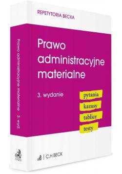 Prawo administracyjne materialne.