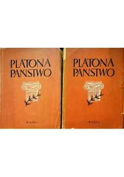 Platona Państwo 2 tomy 1948 r