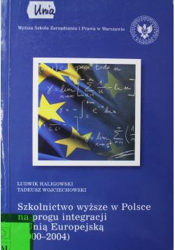 Szkolnictwo wyższe w Polsce na progu integracji z Unią Europejską