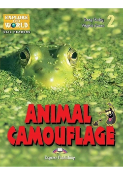 Animal Camouflage. Reader Level 2 + DigiBook
