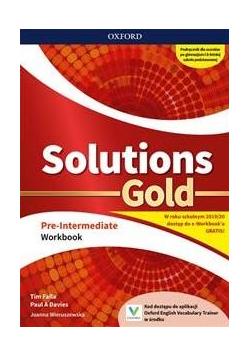 Solutions Gold Pre- Intermediate WB OXFORD