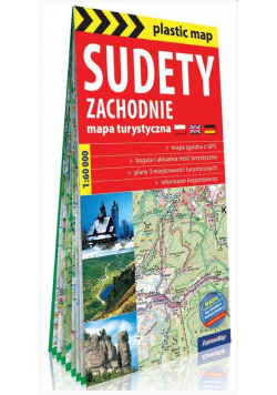 Plastic map Sudety Zachodnie 1:60 000 (folia)