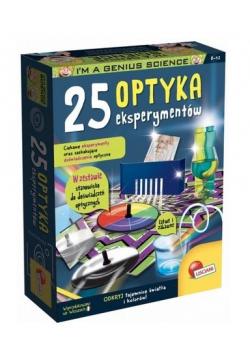 Mały Geniusz - Optyka 25 eksperymentów