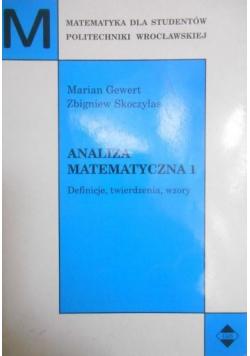 Analiza matematyczna 1