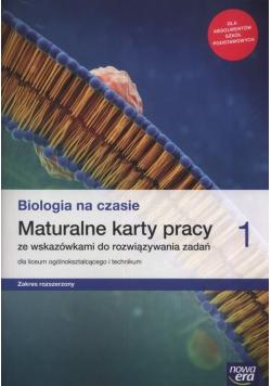 Biologia na czasie 1 Maturalne karty pracy Zakres rozszerzony
