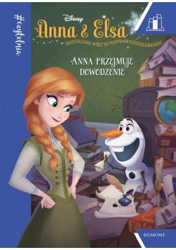 Anna i Elsa. Anna przejmuje dowodzenie