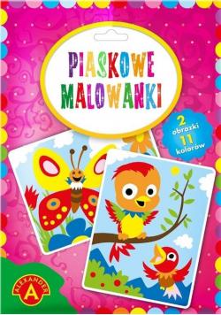 Piaskowe malowanki - Ptaszki i Motyle ALEX