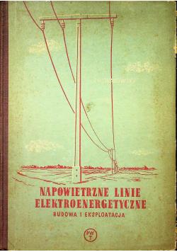 Napowietrzne linie elektroenergetyczne budowa i eksploatacja