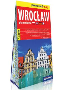 Premium! map Wrocław 1:22 500 plan miasta w.2019