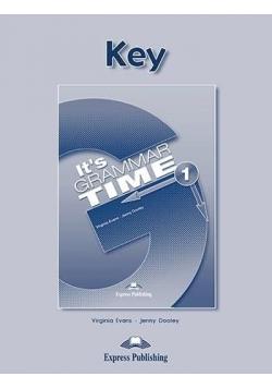 It's Grammar Time 1. Answer Key