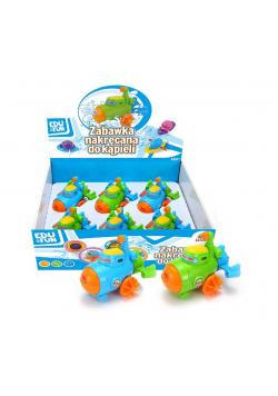 Zabawka nakręcana do kąpieli mix