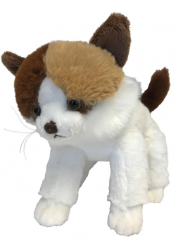 Kot Gosan biało-brązowy 24cm MOLLI TOYS