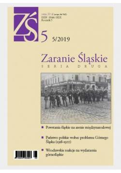 Zaranie śląskie 5/2019