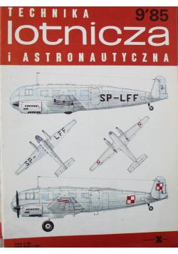 Technika lotnicza i astronautyczna nr 9