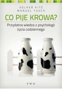 Co pije krowa