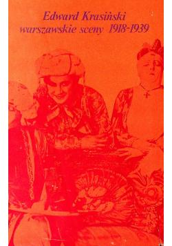 Warszawskie sceny 1918 1939