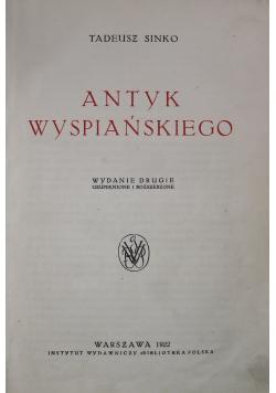 Antyk Wyspiańskiego 1922 r.