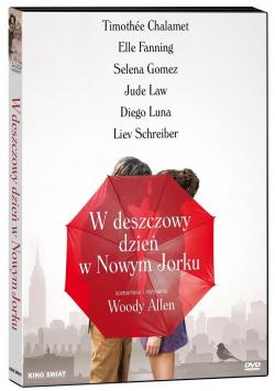 W deszczowy dzień w Nowym Jorku DVD