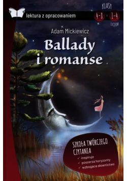Ballady i romanse lektura z opracowaniem Adam Mickiewicz