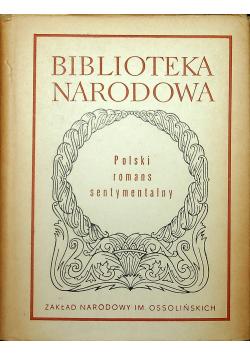 Polski romans sentymentalny