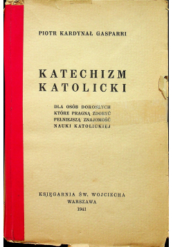 Katechizm katolicki 1941 r