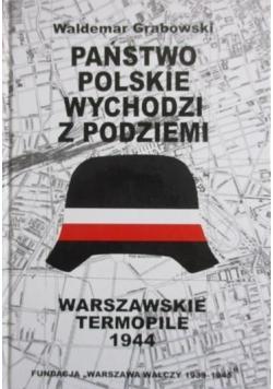 Państwo polskie wychodzi z podziemi