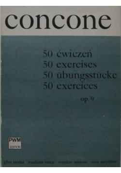 Giuseppe Concone 50 ćwiczeń op 9