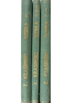 Zygmunt Krasiński dzieła  3 tomy