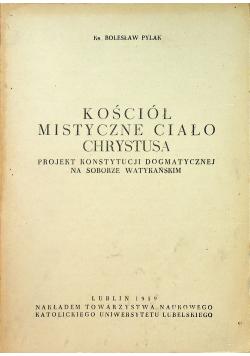 Kościół mistyczne ciało Chrystusa