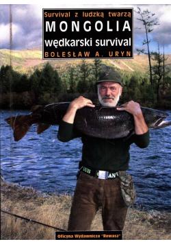 Mongolia wędkarski survival