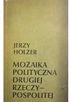 Mozaika polityczna Drugiej Rzeczypospolitej