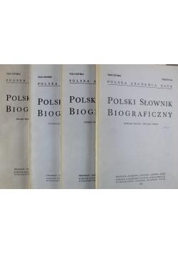 Polski Słownik Biograficzny Tom XXVIII Zeszyt od 116 do 119